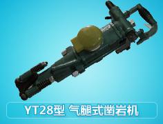YT28型气腿式凿岩机